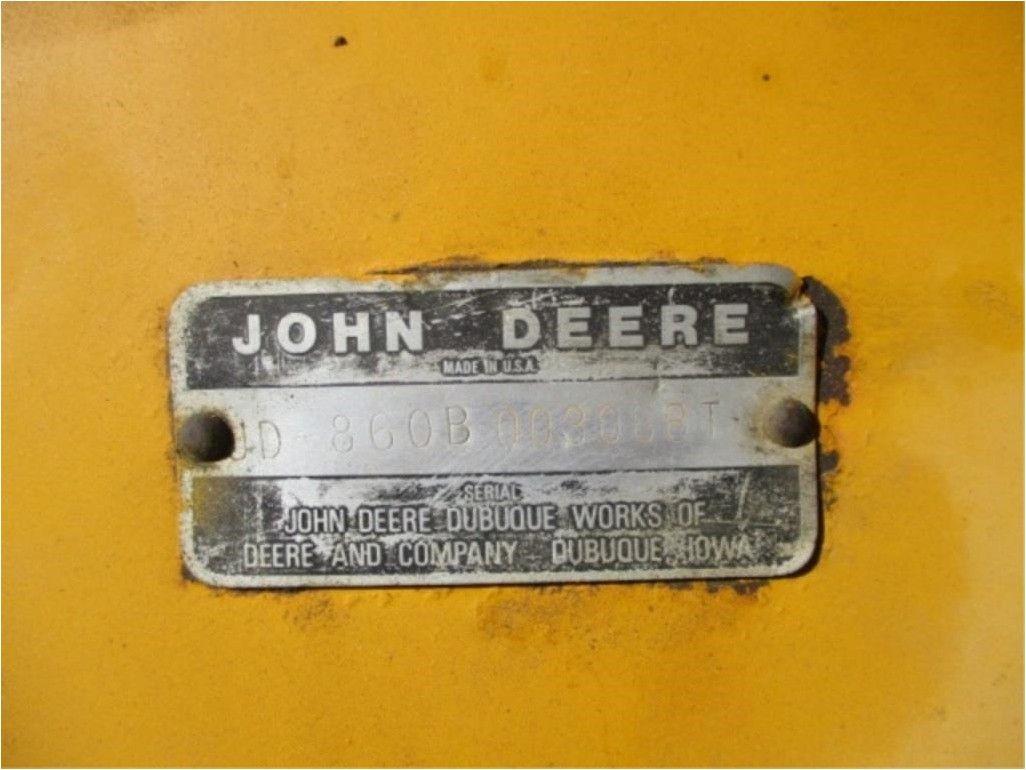 1979 JOHN DEERE 860B