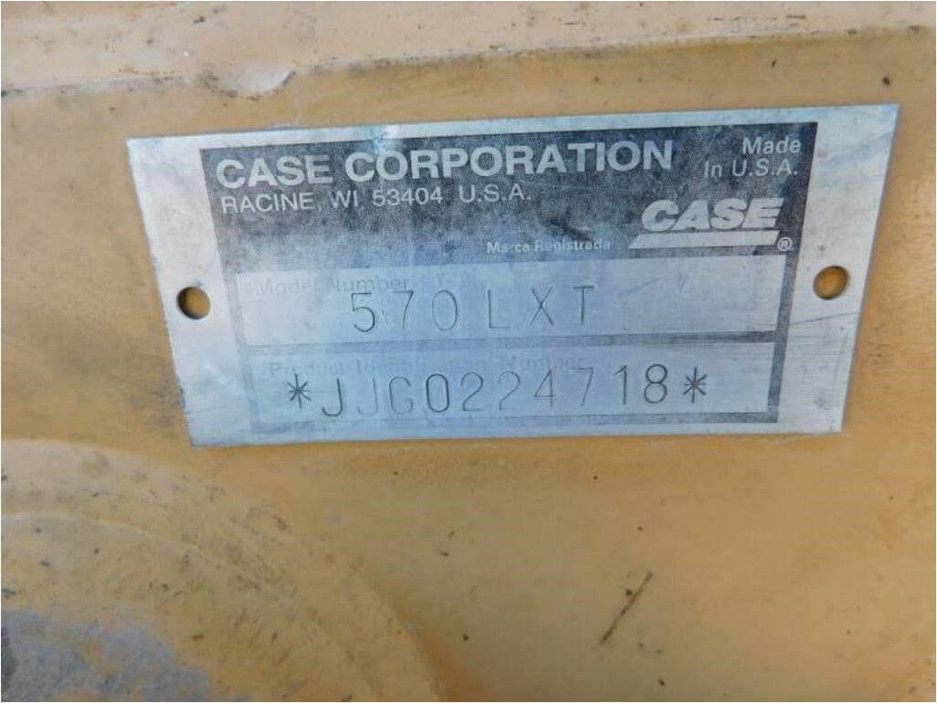 2000 CASE 570L XT II