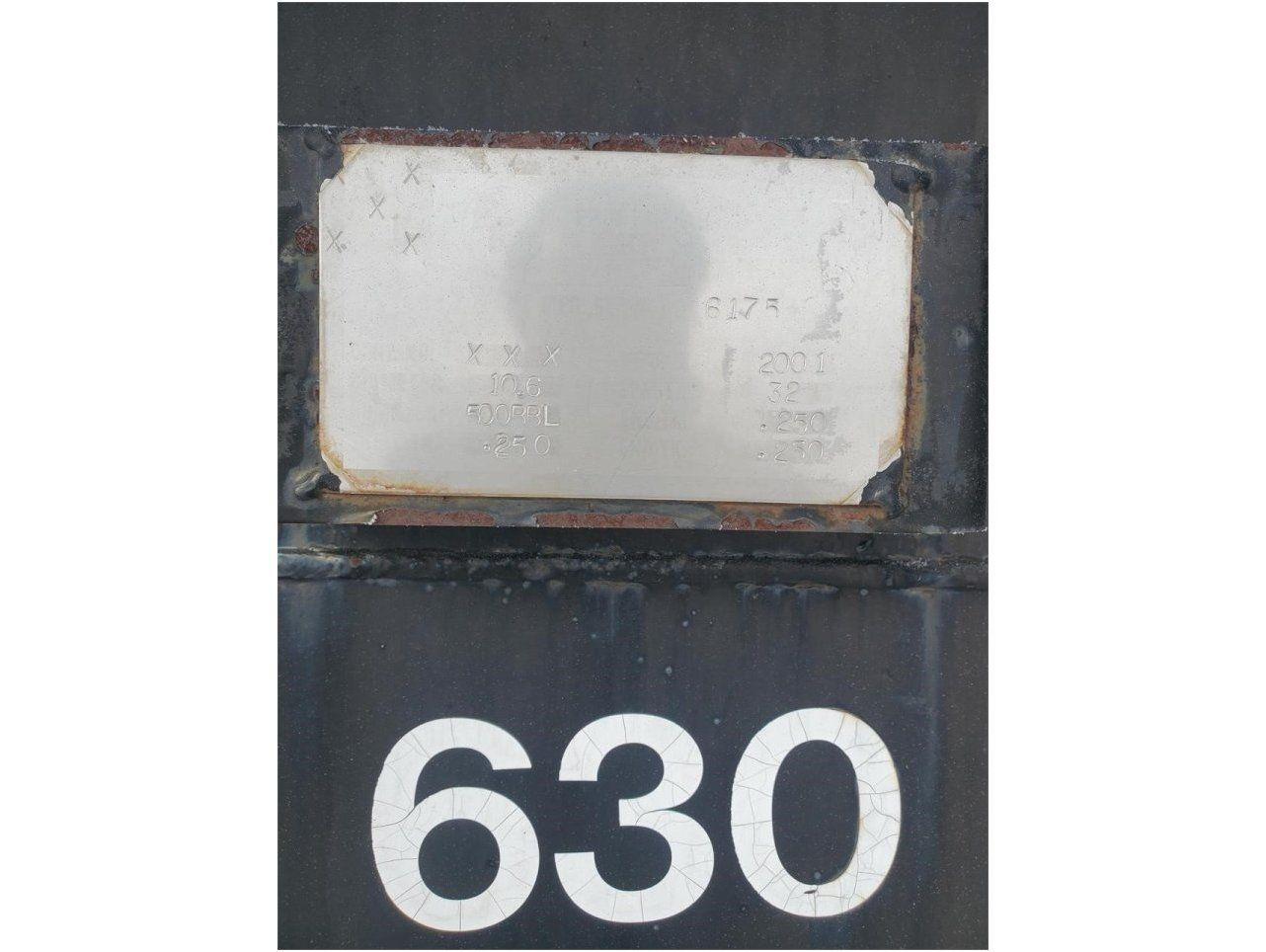 2001 PROCESS FABRICATORS 500BBL