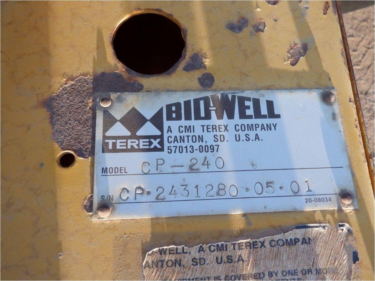 2005 BIDWELL CP240