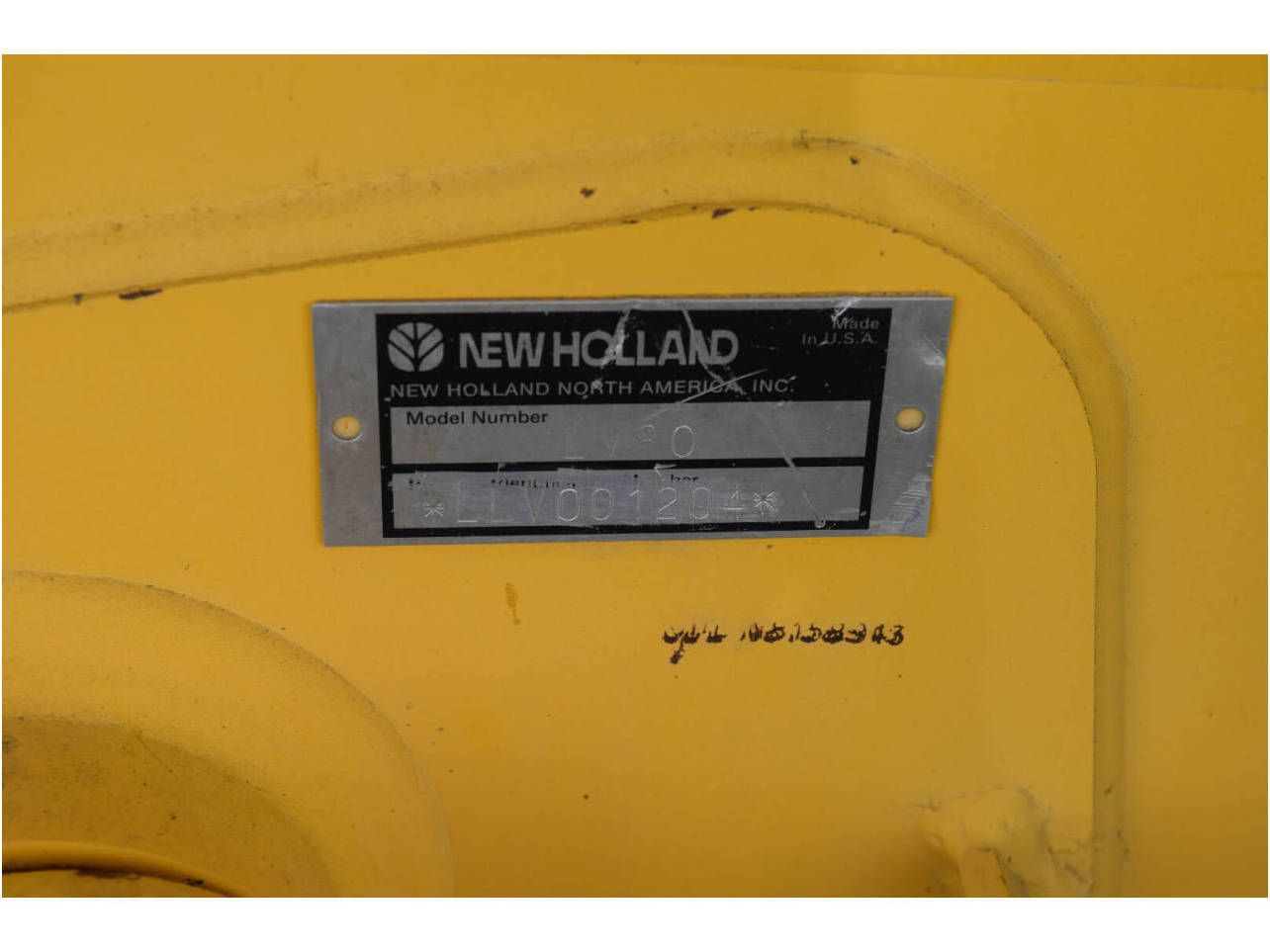 2005 NEW HOLLAND LV80