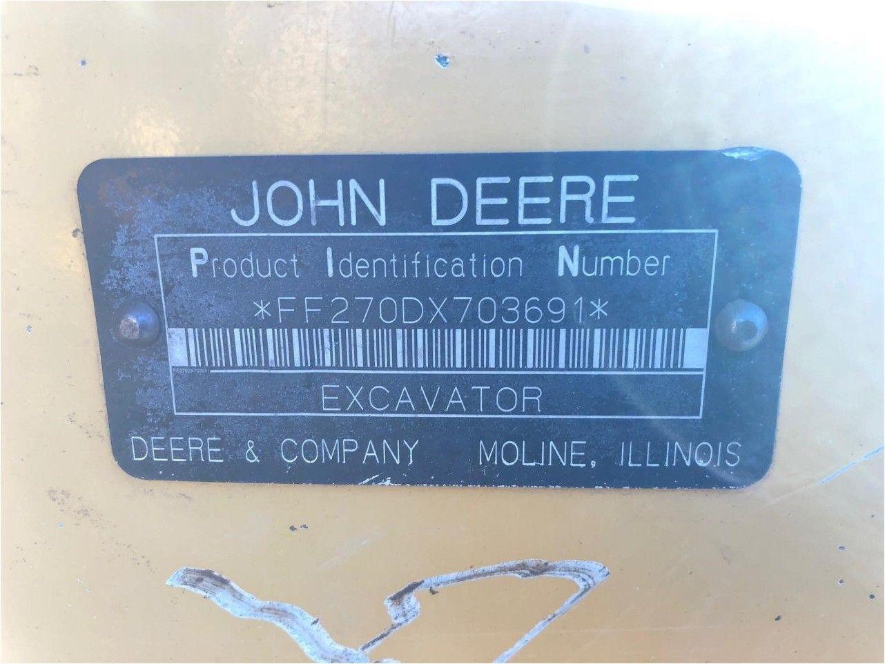 2008 JOHN DEERE 270D LC