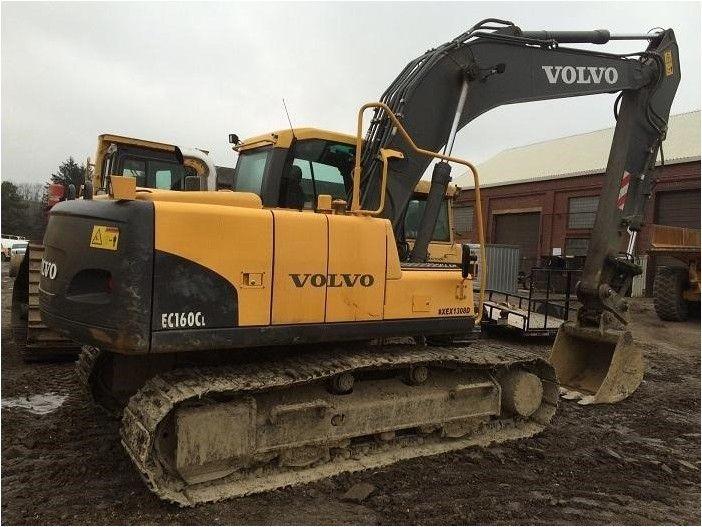 2008 VOLVO EC160C LC