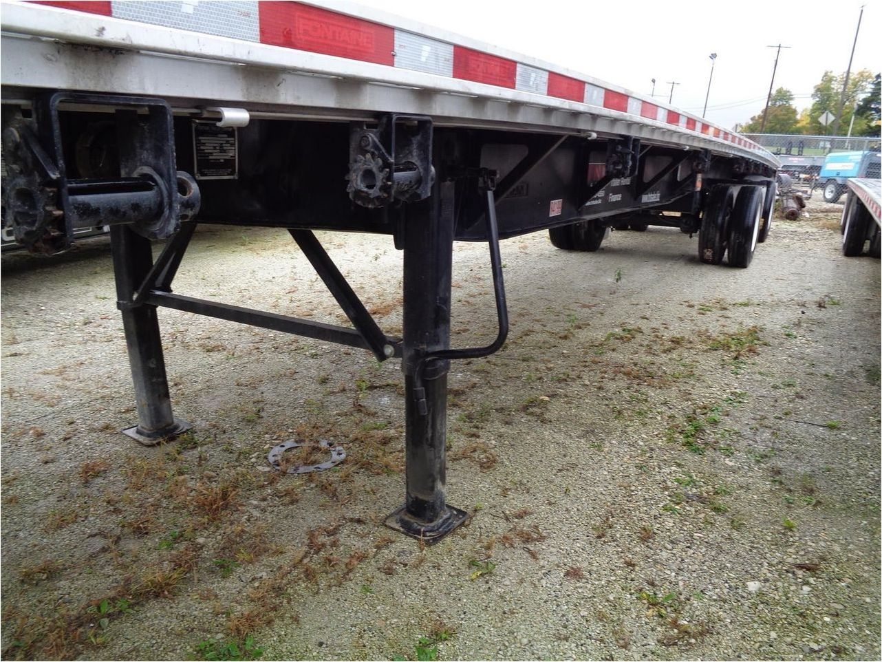 2013 FONTAINE 48X102 COMBO FLATBED