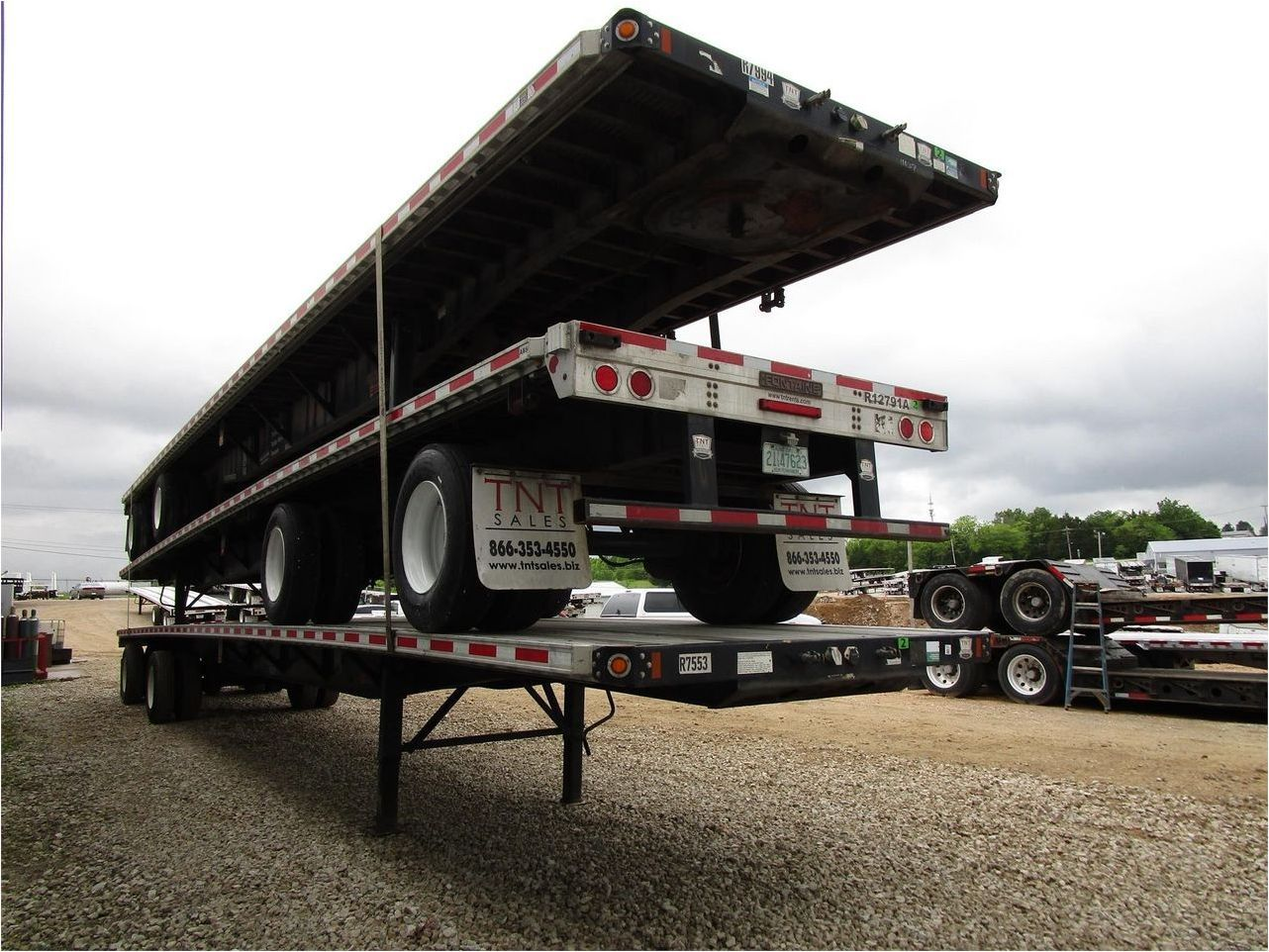 2013 FONTAINE 53X102 COMBO FLATBED W RA