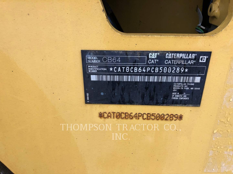 2015 CATERPILLAR CB-64