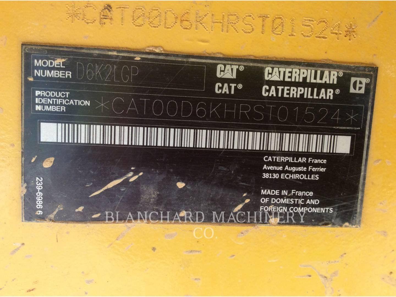 2015 CATERPILLAR D6K2 LGP