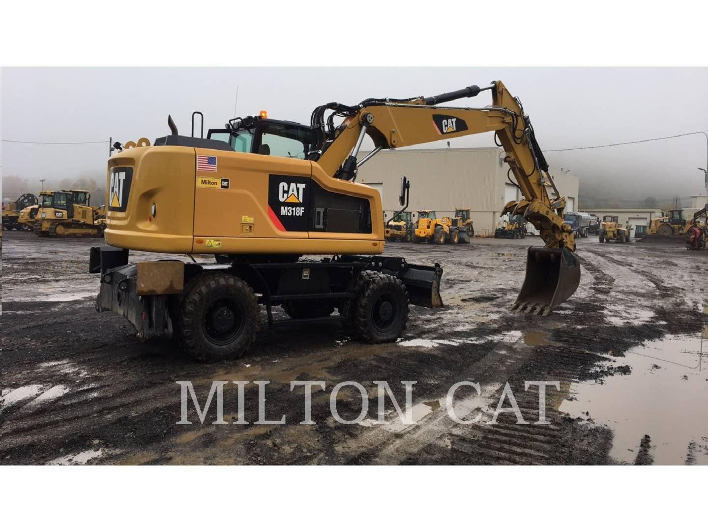 2015 CATERPILLAR M318F