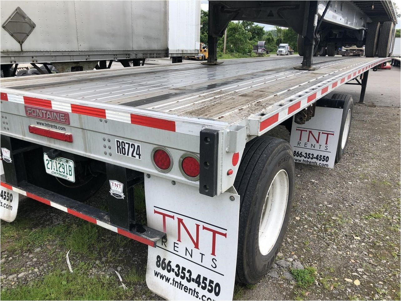 2015 FONTAINE 48X102 COMBO FLATBED