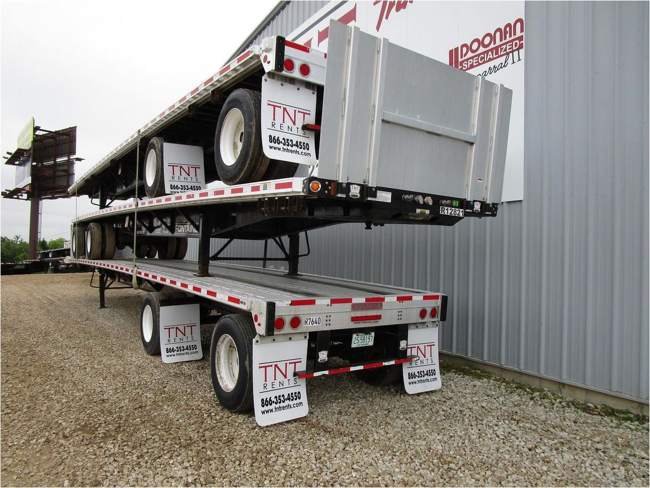 2015 FONTAINE 48X102 COMBO FLATBED WSA