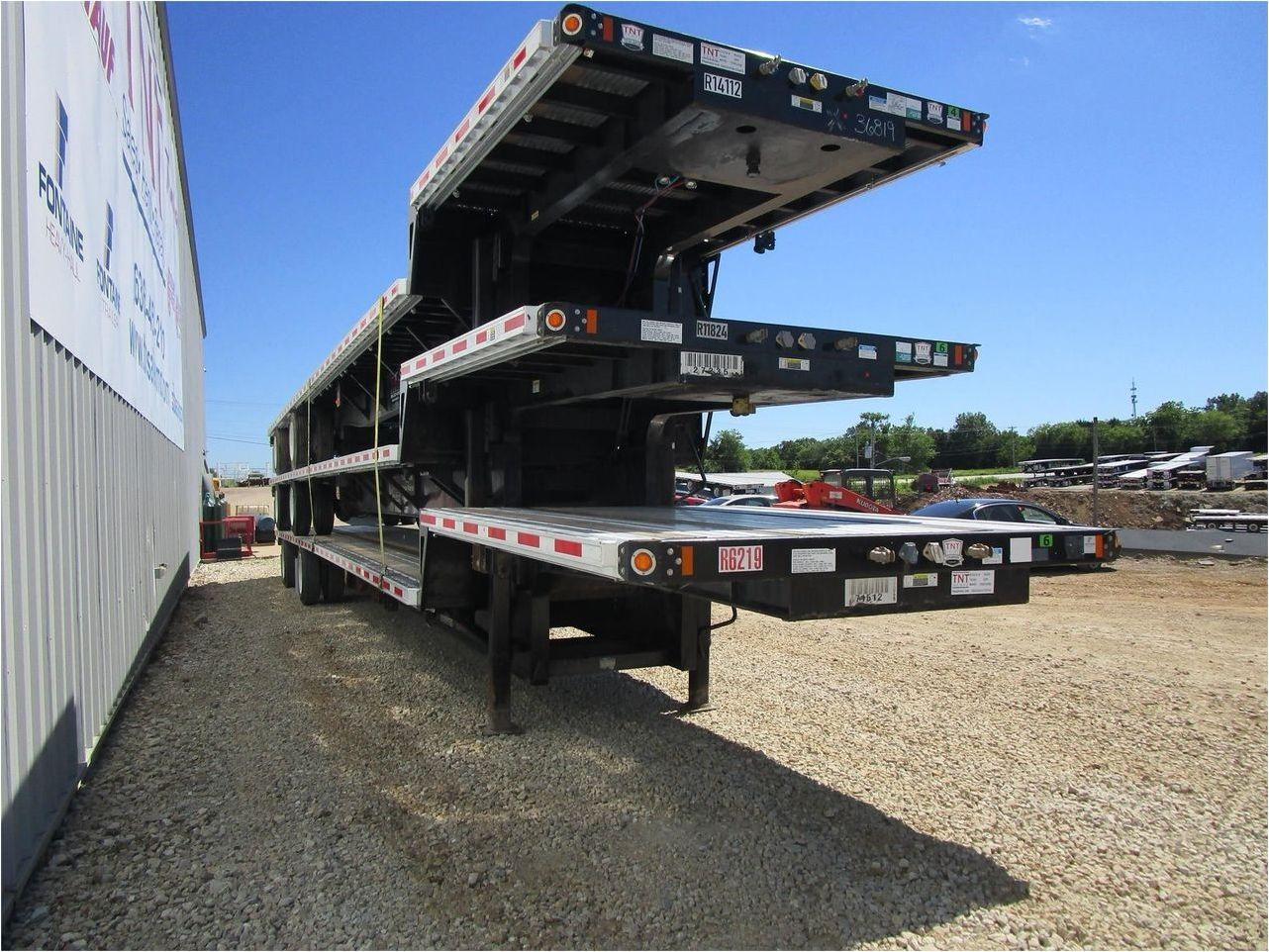 2015 FONTAINE 53X102 COMBO DROP DECK W