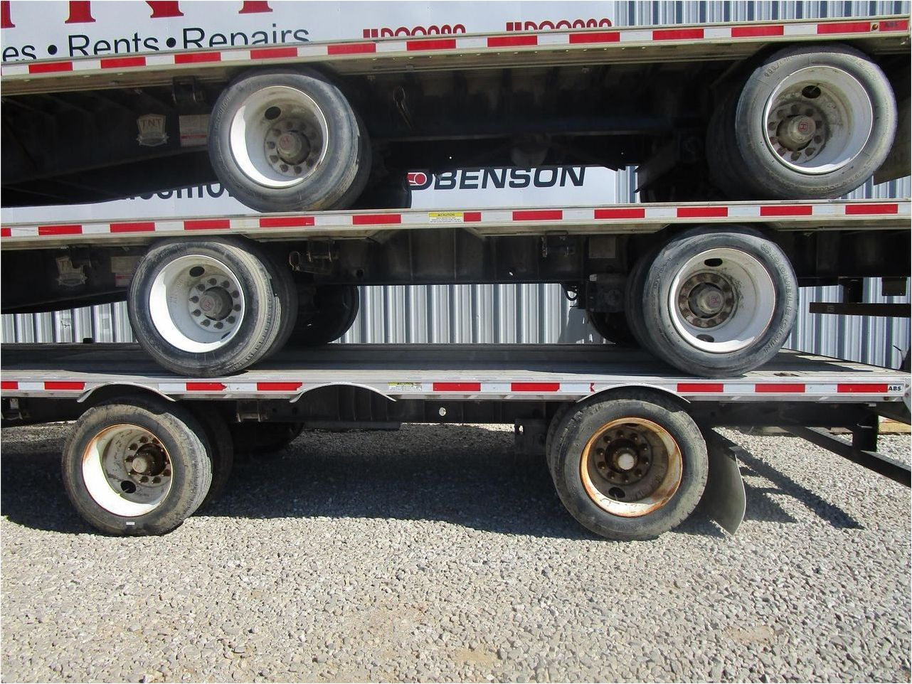 2015 FONTAINE 53X102 COMBO DROPDECK W R