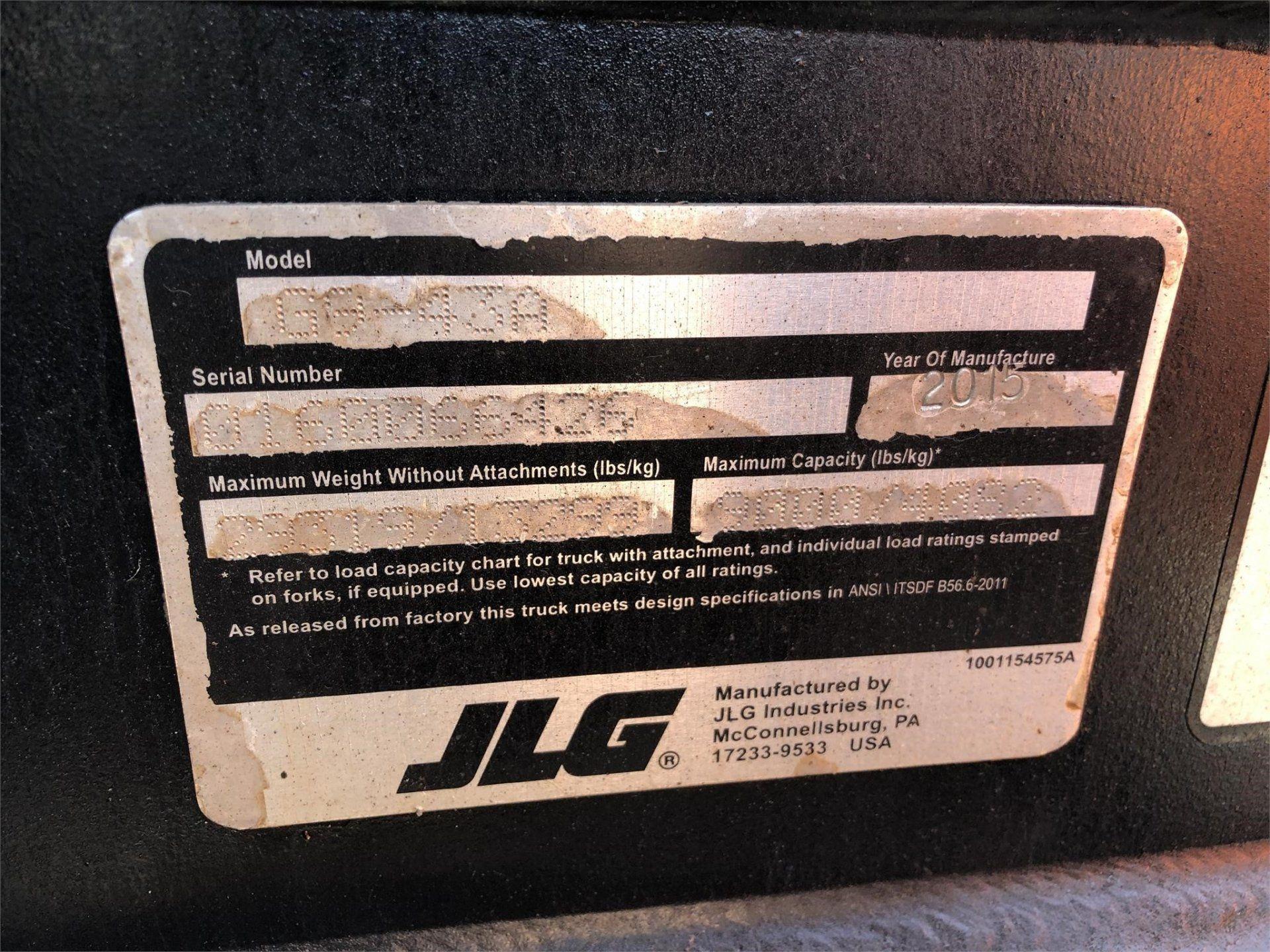 2015 JLG G9-43A