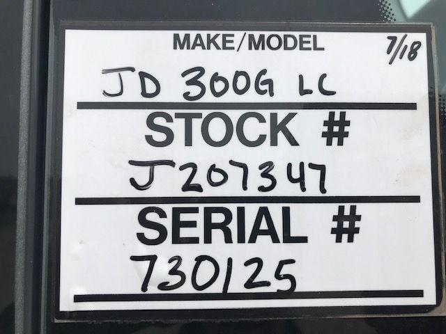 2015 JOHN DEERE 300G
