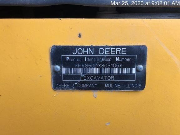 2015 JOHN DEERE 350G LC