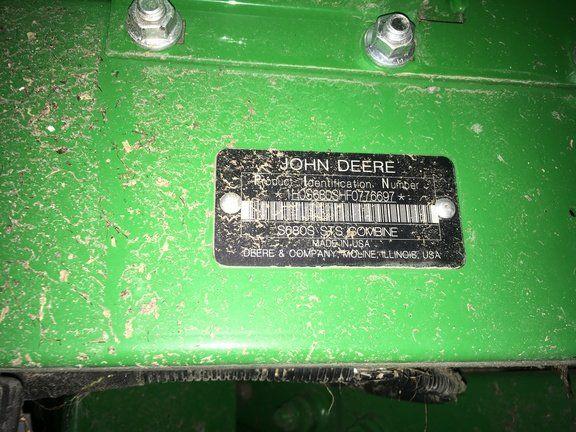 2015 JOHN DEERE S680