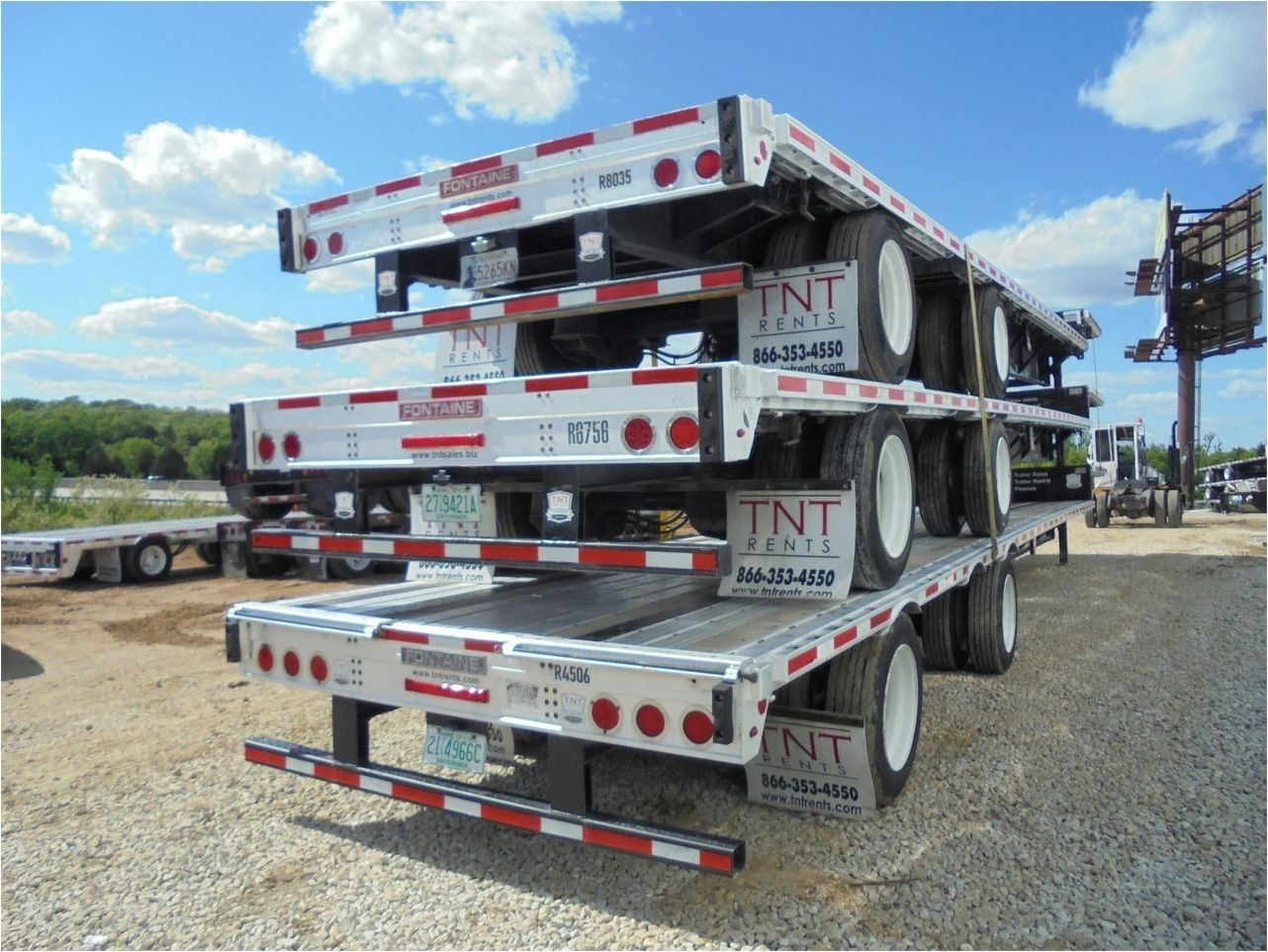 2016 FONTAINE 53X102 COMBO DROP DECK W