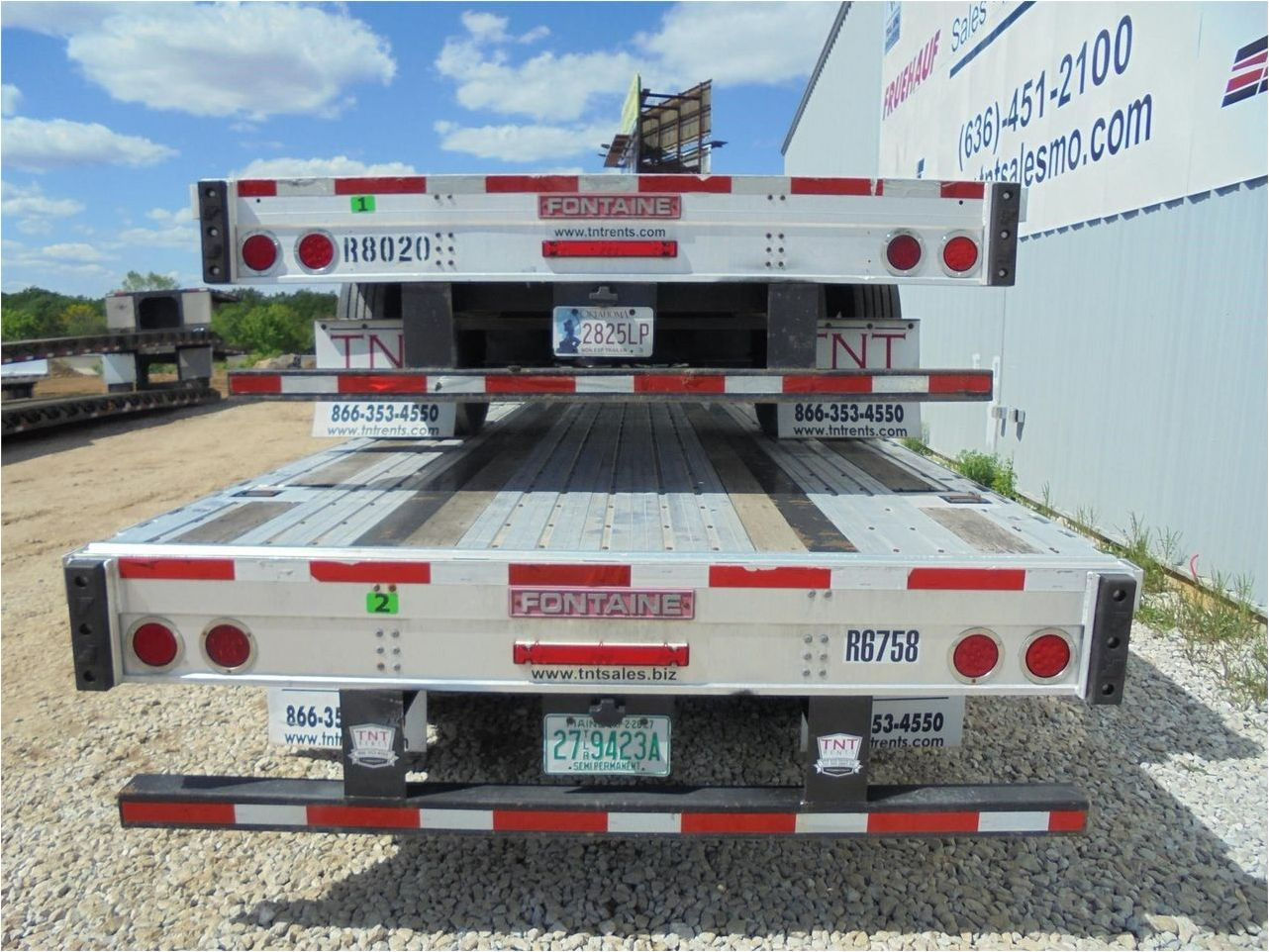 2016 FONTAINE 53X102 COMBO DROPDECK W T