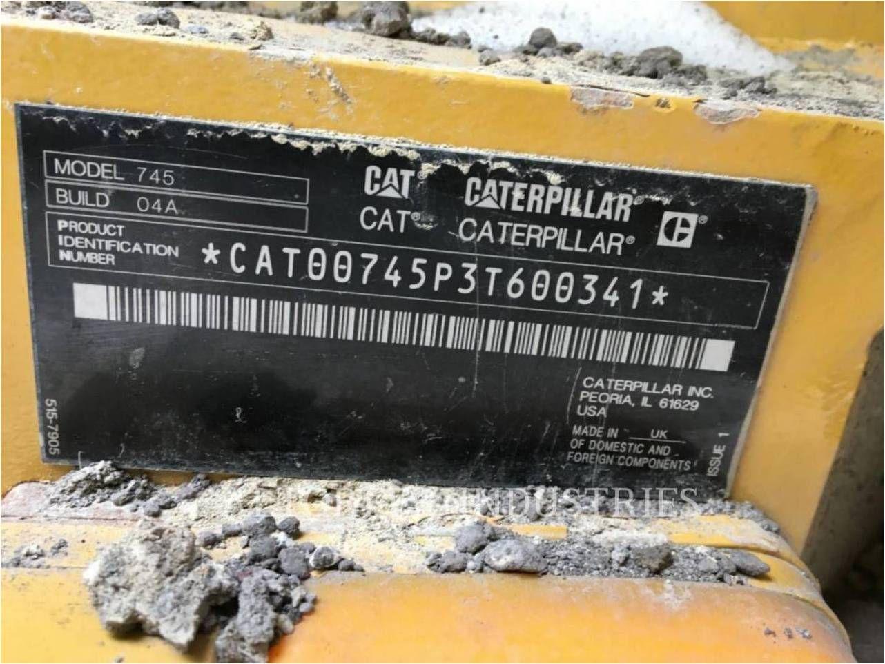2018 CATERPILLAR 745