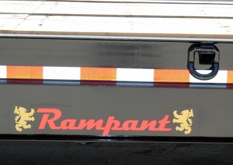 2021 RAMPANT FIXED NECK LOWBOY